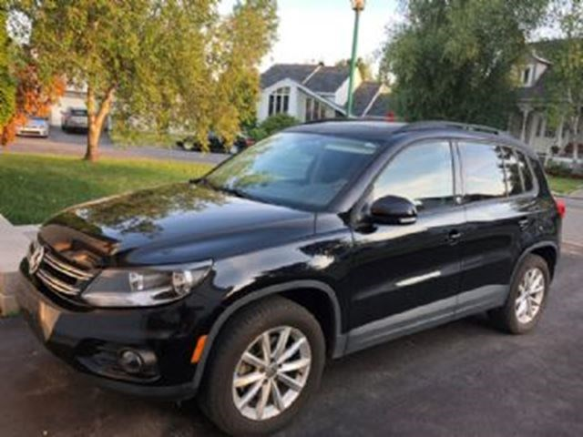 2017 Volkswagen Tiguan ëdition Sp Cial Wolfsburg 4m0tion Navi Panoramic Roof Black For 489 In Mississauga Thepeterboroughexaminer