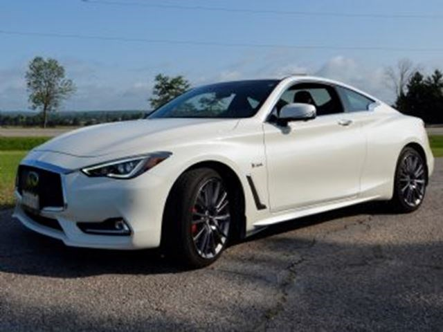 2017 Infiniti Q60 3 0t Red Sport 400 Awd Cars