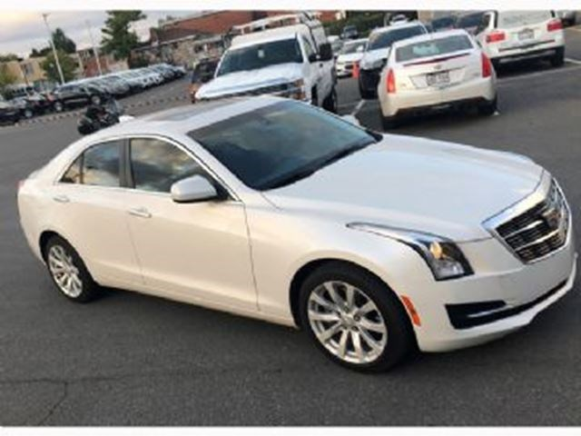2018 Cadillac Ats Base Awd White For 525 In Mississauga Theifp Ca