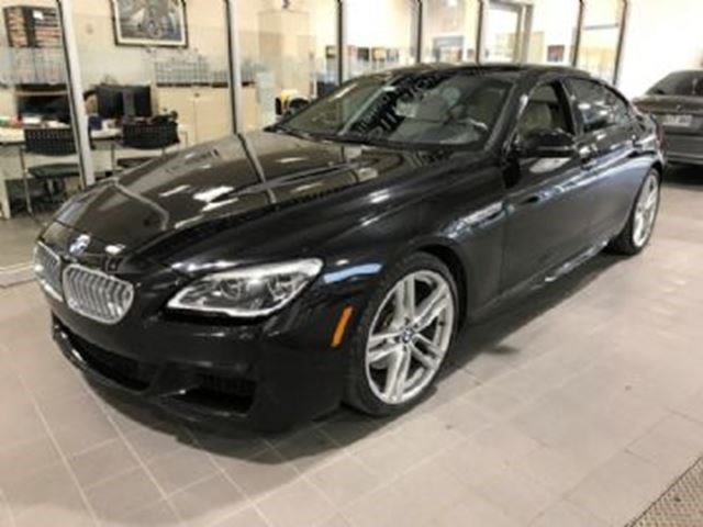 2017 BMW 6 Series 650i XDrive M Sport Edition Pack Black For 1253 In Mississauga