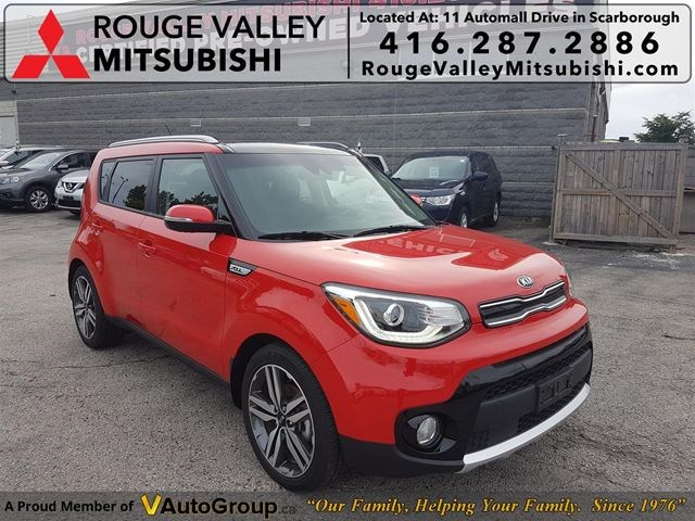 2018 Kia Soul Ex Tech Accident Free Like New Fully Loaded Red