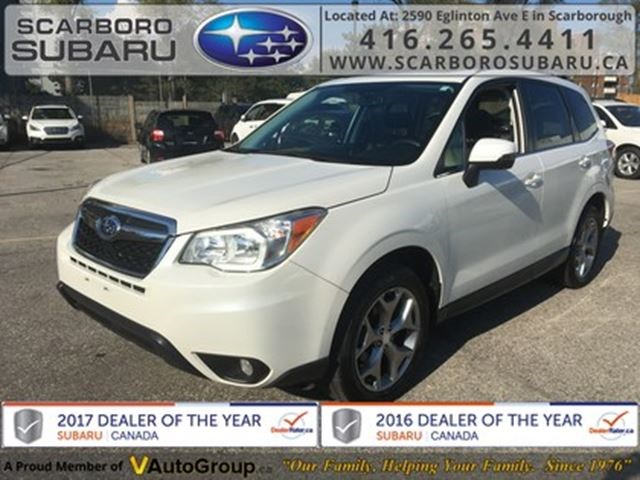 2016 Subaru Forester 2 5i Limited Pkg From 1 9 Financing Available White For 19995 In Scarborough Niagarathisweek
