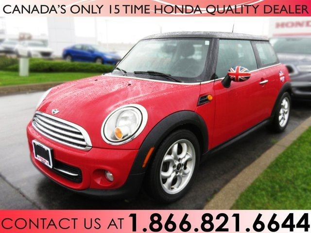 2013 Mini Cooper Hardtop No Accidents Sunroof Red For 12488 In