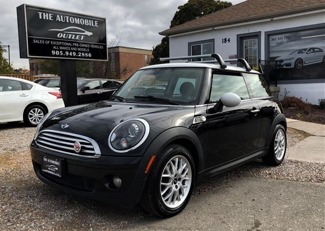 2010 Mini Cooper Camden Pano Roof Manual No Accident Black For 7998