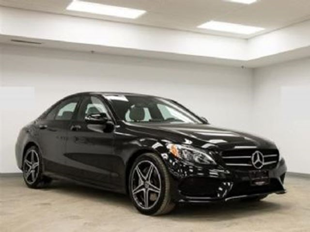 2017 Mercedes Benz C300 4matic Loaded