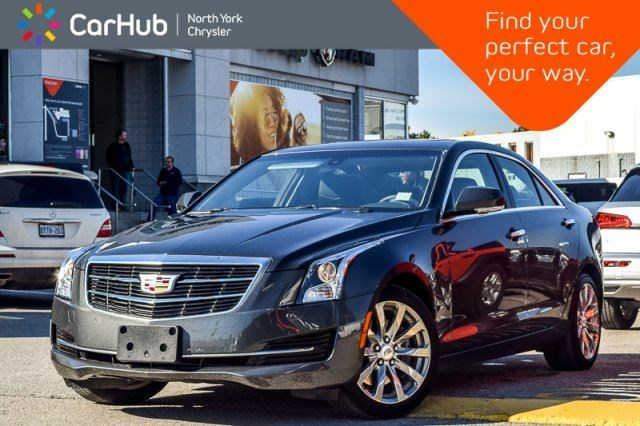 2018 Cadillac Ats Luxury Awd Bose Sunroof Bluetooth Keyless Entry