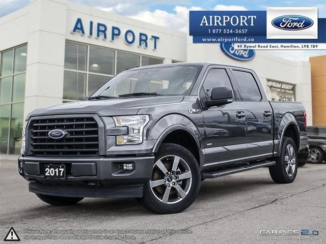 2017 Ford F 150 Xlt Sport 4x4 With Only 53 560 Kms Gris For 37575 In