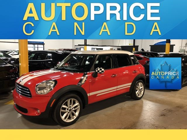 2011 Mini Cooper Countryman Bluetoothheated Seatspan Roof Red For