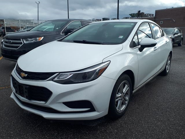 2016 Chevrolet Cruze Lt White In Richmond Hill