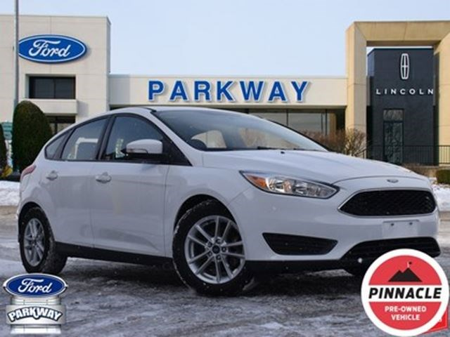 2017 Ford Focus Se Snow Tires Bluetooth Heat Seats Backup Cam White For 14000 In Waterloo Guelphmercury