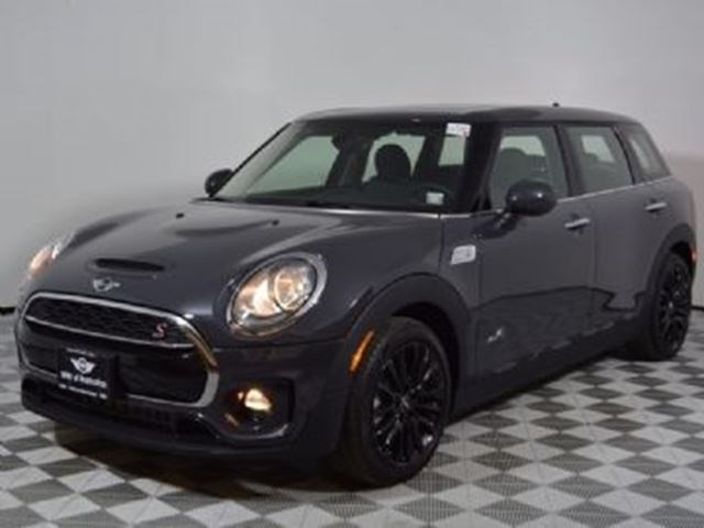 2017 Mini Cooper Clubman S All4 Wwinter Tires On Alloys Black For