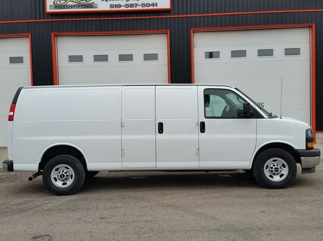 Gmc Savana 3500 >> 2018 Gmc Savana 3500 Extended White For 34995 In Jarvis