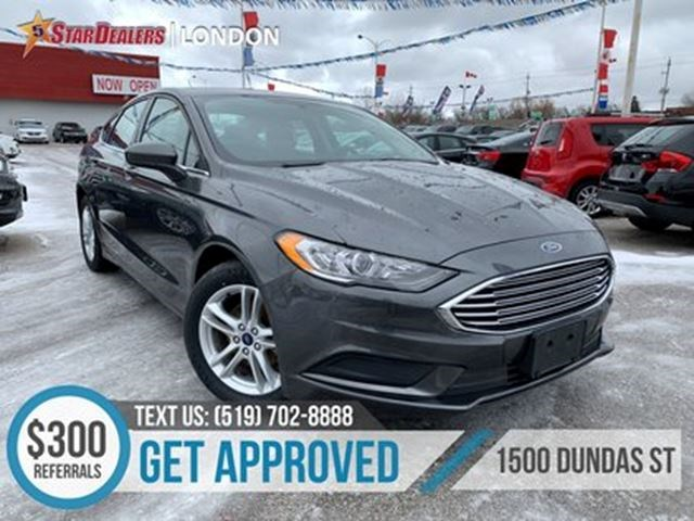 2018 Ford Fusion Se 1 Owner Cam