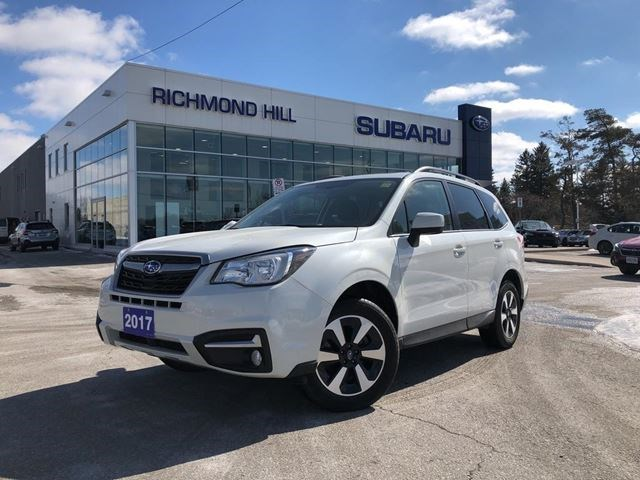 2017 Subaru Forester 2 5i Touring Package White For 28990 In Richmond Hill Guelphmercury