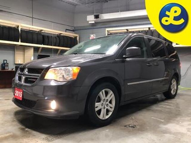 2015 Dodge Grand Caravan Crew Plus Dual Dvd Players 2nd Row And Third Row Grey For 16495 In Cambridge Sachem Ca