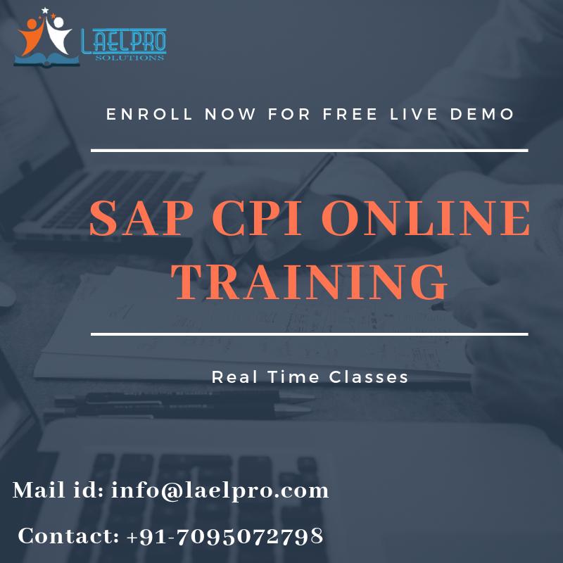 SAP CPI Online Training   Lael Pro Solutions - York Region