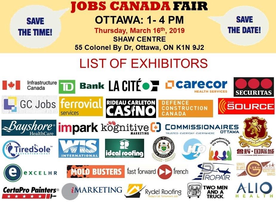 Ottawa Job Fair - May 16th, 2019 - Ottawa Valley Classifieds