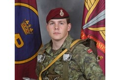 Master Cpl  Byron Greff comes home to CFB Trenton today