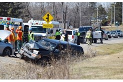 Collision on Highway 15 in Smiths Falls | InsideOttawaValley com