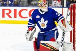 Toronto Maple Leafs Turn To Orangeville Crushers History Record Holder Amid Goalie Emergency Orangeville Com