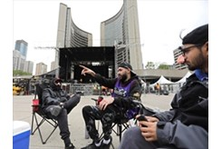 This isn't real!' Raptors fans camp out for championship parade