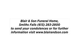 Obituaries Death Notices Listings in Ottawa Valley