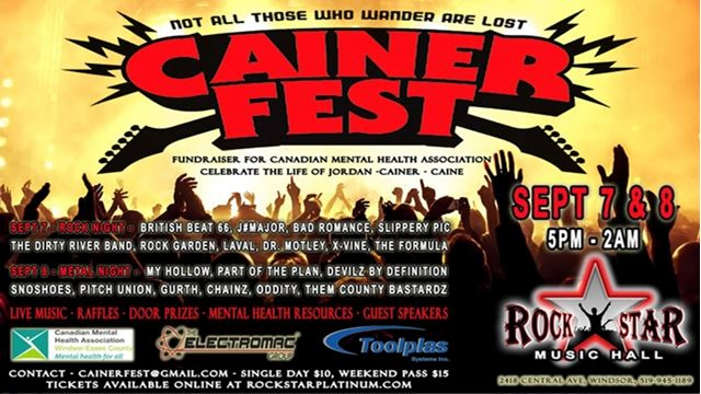 Cainerfest A Fundraiser For The Canadian Mental Health Association