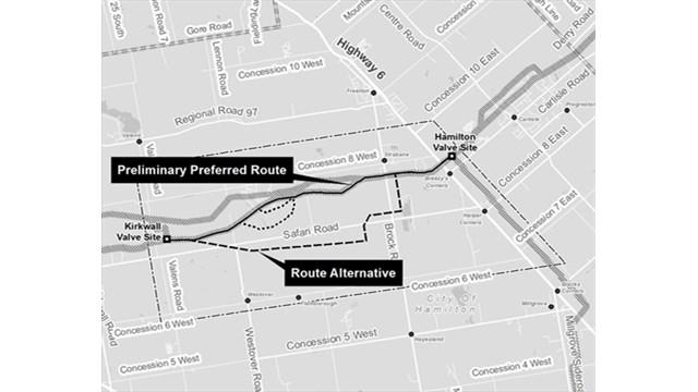 Enbridge gets input on proposed Flamborough pipeline