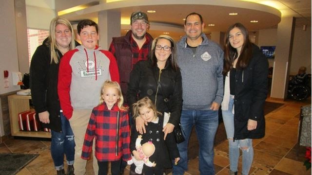 Year Old Birthday Pics 14th Party Ideas Family Donates Gifts To Orillias Spencer House