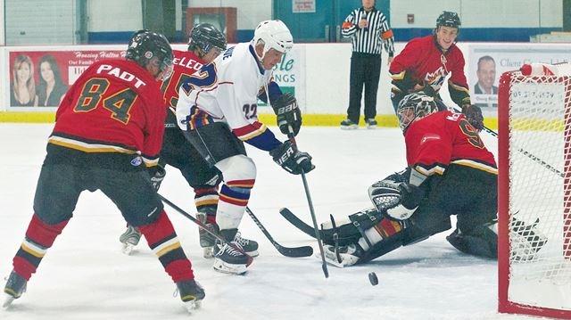 79428de98 Pro Hockey Heroes face off against Halton Hills Fire Department ...