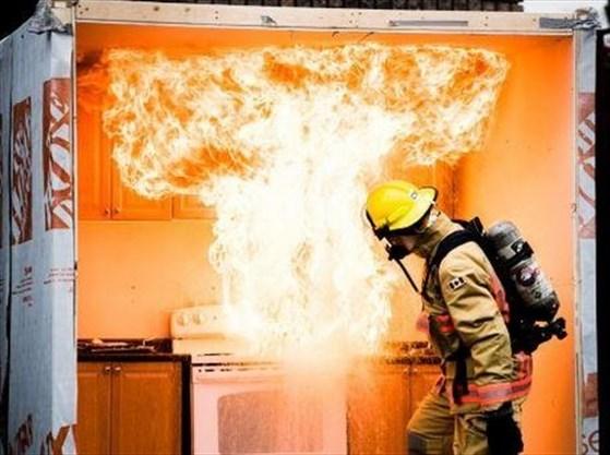 if a laboratory fire erupts immediately
