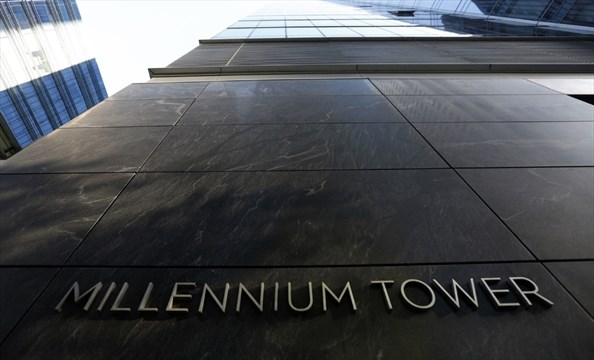 San francisco s story millennium tower is literally