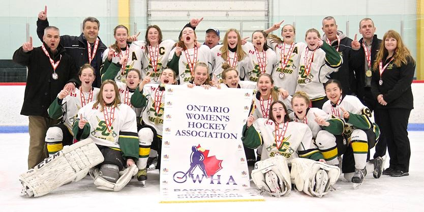Stoney Creek bantam AA Sabres capture first Ontario Women ...