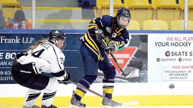 durham teams dominate provincial women s hockey league
