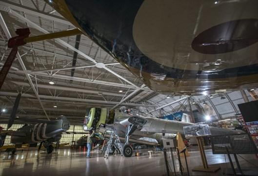Models and memories at the warplane museum