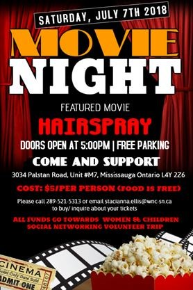 Movie Night Fundraiser On July 072018 Simcoecom