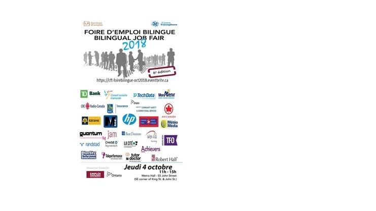bilingual job fair foire d emploi bilingue on october 04 2018