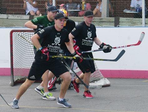 Star Studded Ball Hockey Tournament Raises Money For Kingston Boys
