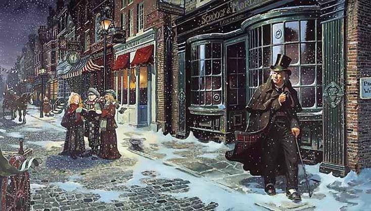 Carol Singing And Charles Dickens A Christmas Carol On December 20 2018 Caledonenterprise Com