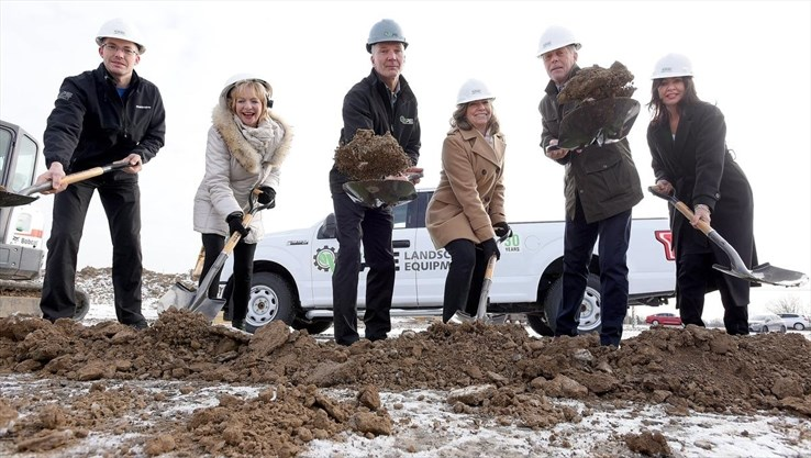 WPE Sod Turning