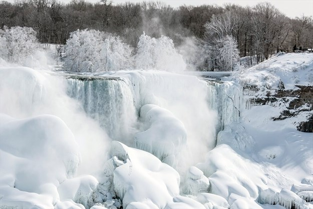 Illusion Of Frozen Falls Once Again Making Headlines