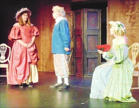 The Country Wife Sparks Barndoor Productions Best Opening Weekend
