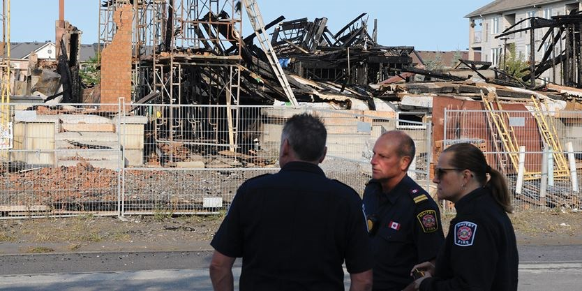 Whitby Fire Aftermath