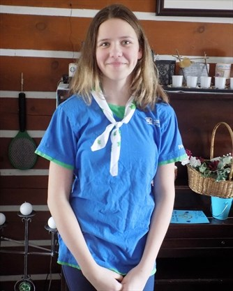Merrickville Girl Guide Pathfinder chosen to represent