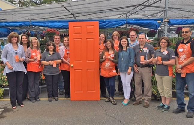 Home Depot Parry Sound launches Orange Door campaign | ParrySound.com