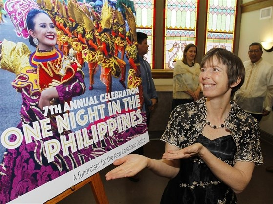 Filipino fiesta theme for New Canadians Centre gala