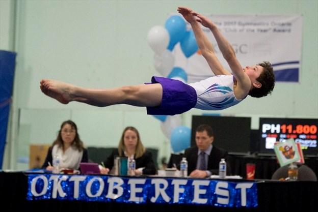 57f9bdf22d25 Kids in Sports  Gymnasts showcase skills at provincial qualifier in ...