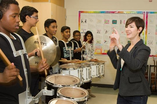 VIDEO: Drum roll please, for this Brampton school marching