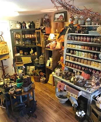 The inside of the Prim Shed  located at 419 Rideau Street in Kemptville   The primitives shop offers home decor items  special gifts  rustic style  furniture. The Prim Shed opens in downtown Kemptville   InsideOttawaValley com