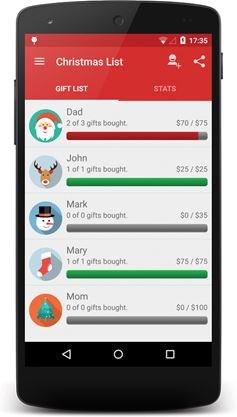 Iphone app christmas gift list